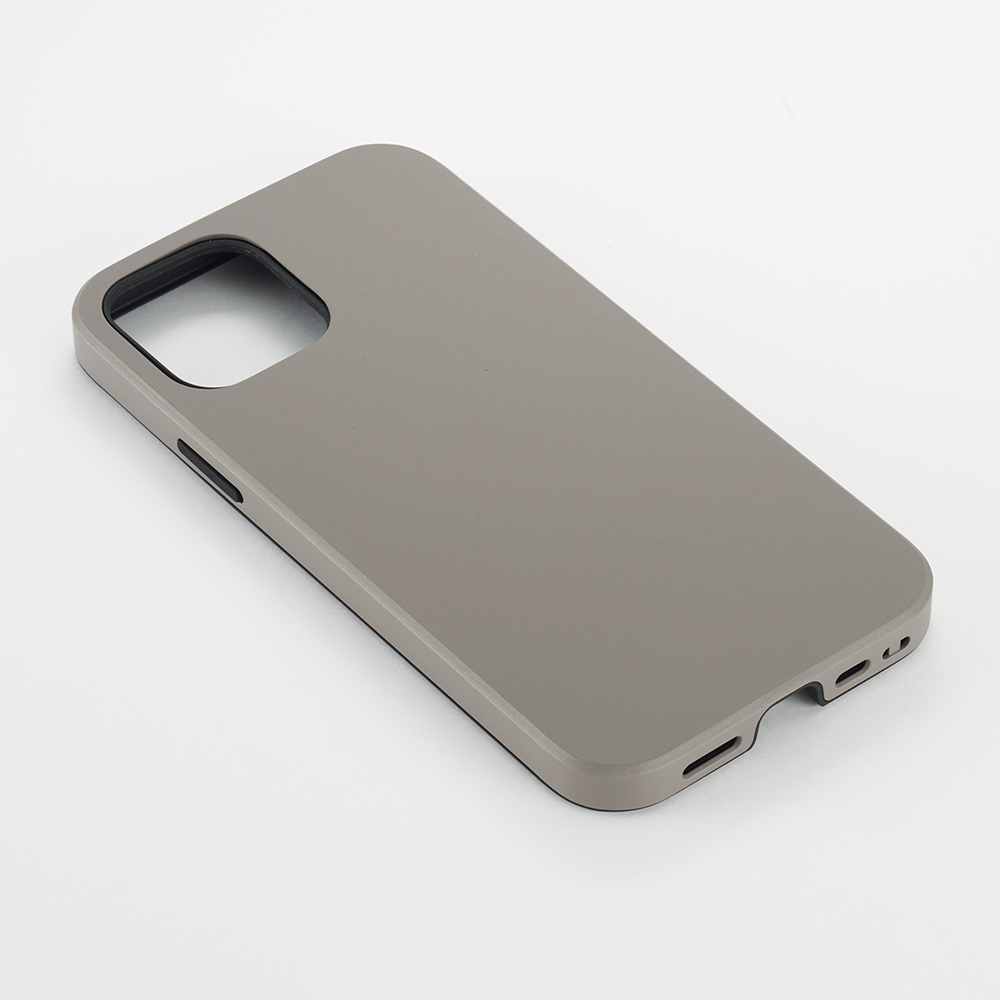 【iPhone12/12 Pro ケース】Smooth Touch Hybrid Case for iPhone12/12 Pro (greige)サブ画像