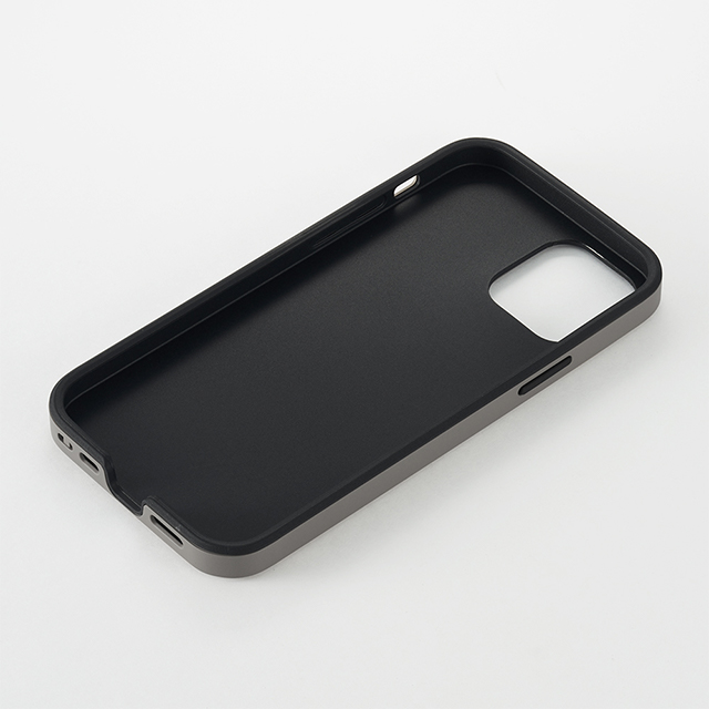 【iPhone12 mini ケース】Smooth Touch Hybrid Case for iPhone12 mini (greige)サブ画像