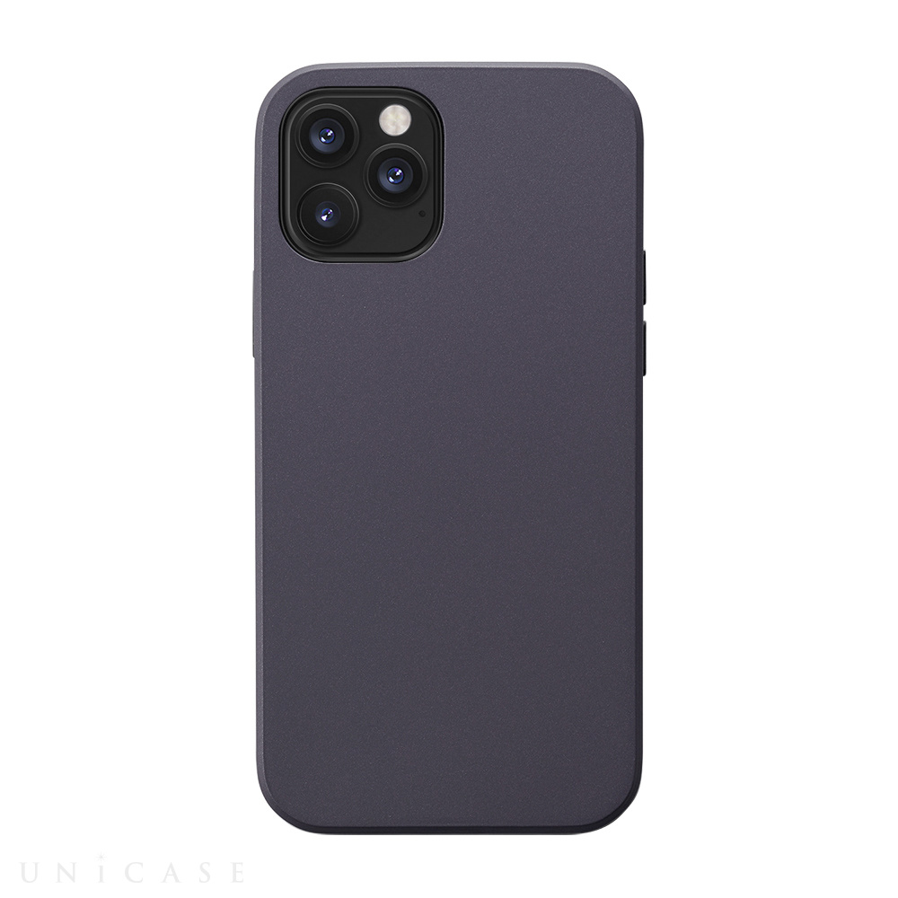 【iPhone12/12 Pro ケース】Smooth Touch Hybrid Case for iPhone12/12 Pro (purple)