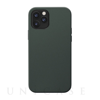 【iPhone12/12 Pro ケース】Smooth Touch Hybrid Case for iPhone12/12 Pro (green)