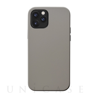 【iPhone12/12 Pro ケース】Smooth Touch Hybrid Case for iPhone12/12 Pro (greige)