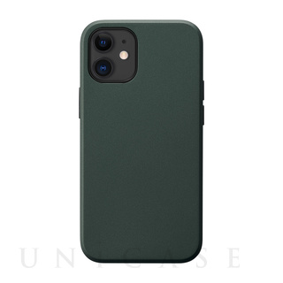 【iPhone12 mini ケース】Smooth Touch Hybrid Case for iPhone12 mini (green)