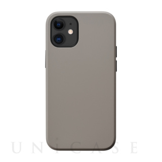 【iPhone12 mini ケース】Smooth Touch Hybrid Case for iPhone12 mini (greige)