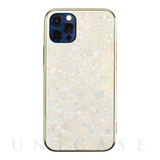 【iPhone12/12 Pro ケース】Glass Shell Case for iPhone12/12 Pro (gold)