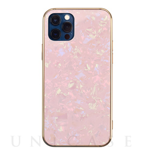 【iPhone12/12 Pro ケース】Glass Shell Case for iPhone12/12 Pro (pink)