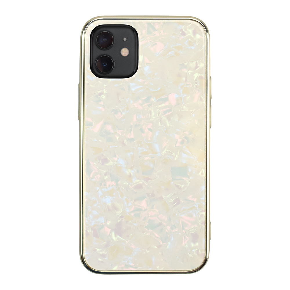 【iPhone12/12 Pro ケース】Glass Shell Case for iPhone12/12 Pro (gold)サブ画像