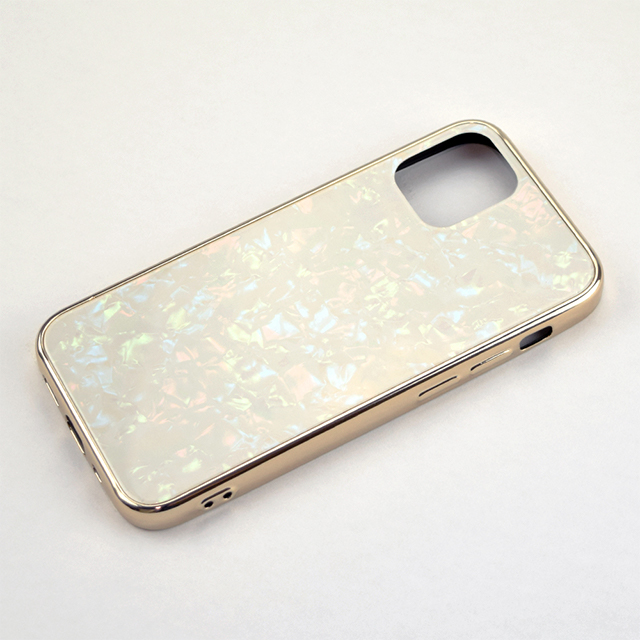 【iPhone12 mini ケース】Glass Shell Case for iPhone12 mini (gold)サブ画像