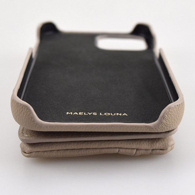 【iPhone12 mini ケース】Clutch Ring Case for iPhone12 mini (gray pink)サブ画像