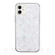 【iPhone12 mini ケース】Glass Shell Case for iPhone12 mini (white)