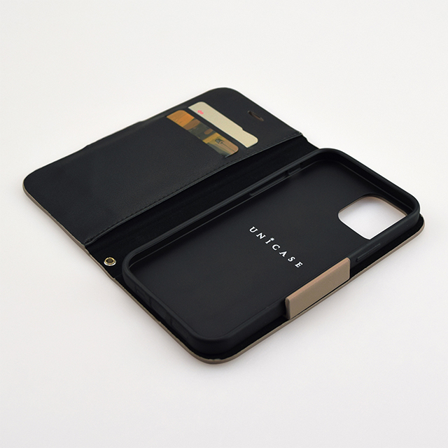 【iPhone12 mini ケース】Daily Wallet Case for iPhone12 mini (gray blue)サブ画像