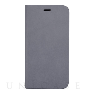 【iPhone12/12 Pro ケース】Daily Wallet Case for iPhone12/12 Pro (gray blue)