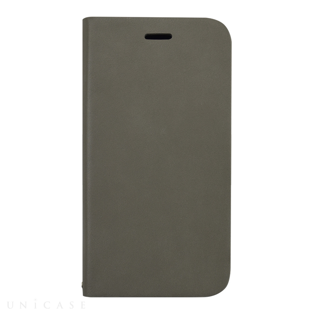 【iPhone12 mini ケース】Daily Wallet Case for iPhone12 mini (gray)