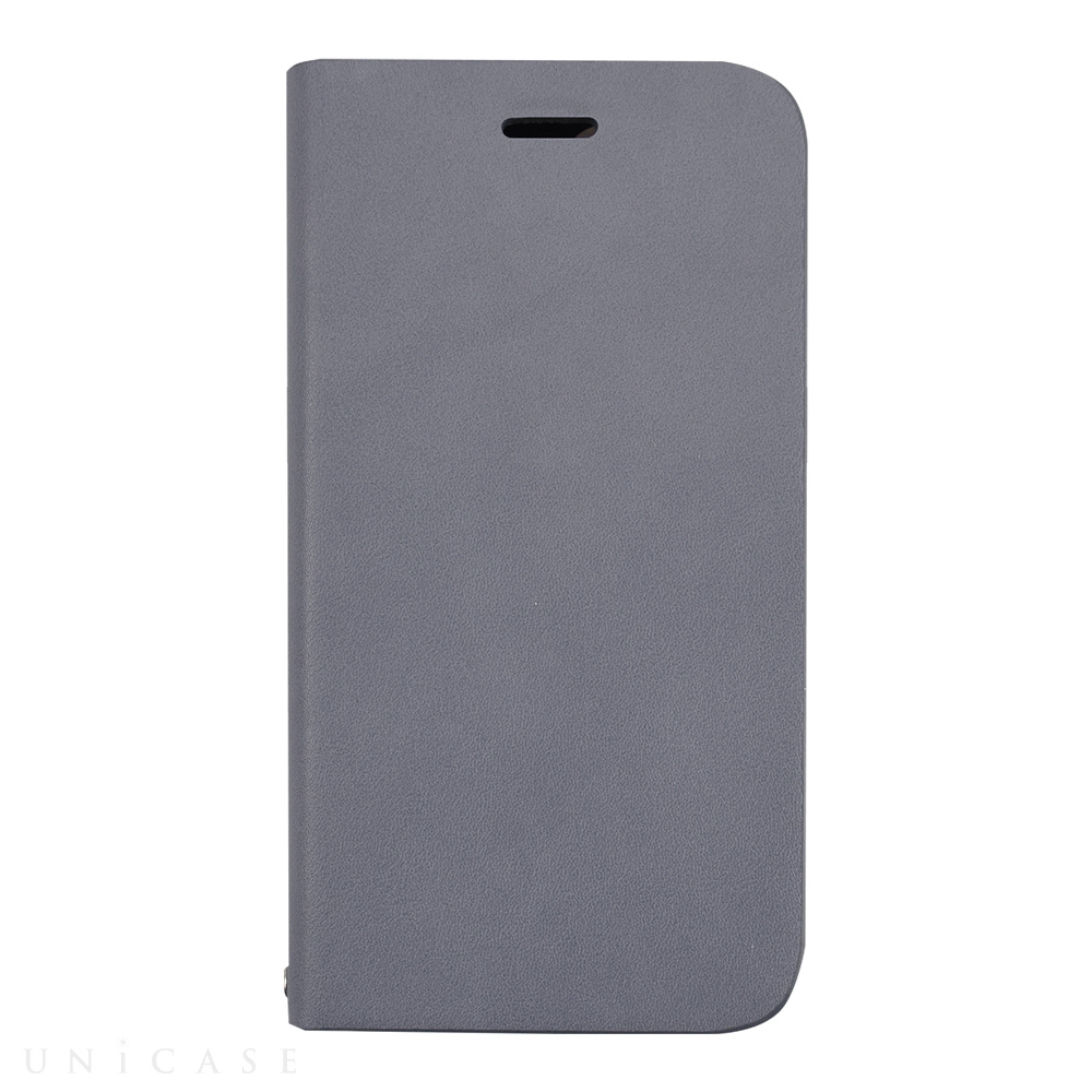 【iPhone12 mini ケース】Daily Wallet Case for iPhone12 mini (gray blue)