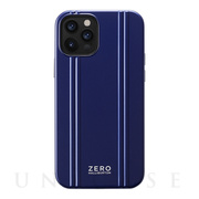 【iPhone12/12 Pro ケース】ZERO HALLIBURTON Hybrid Shockproof Case for iPhone12/12 Pro (Blue)