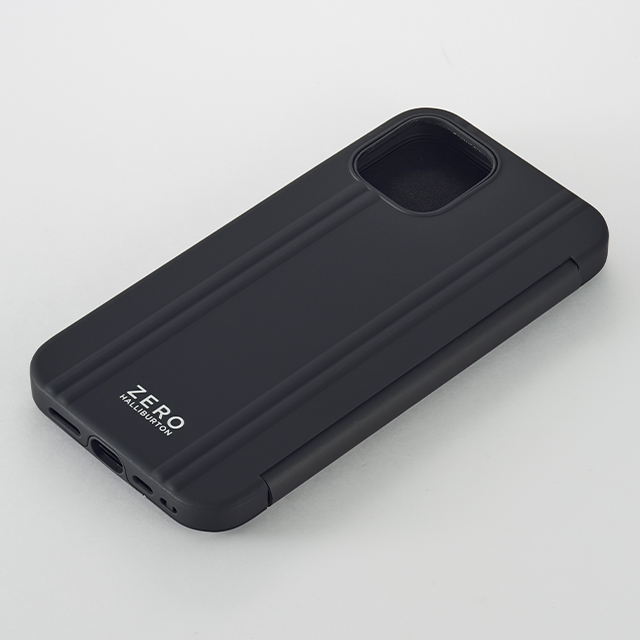 【iPhone12/12 Pro ケース】ZERO HALLIBURTON Hybrid Shockproof Flip Case for iPhone12/12 Pro (Black)goods_nameサブ画像