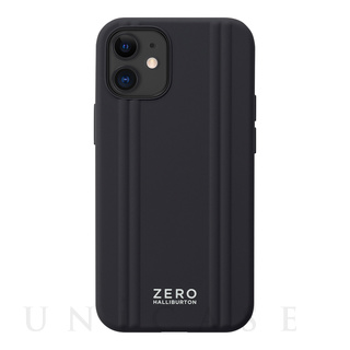 【iPhone12 mini ケース】ZERO HALLIBURTON Hybrid Shockproof Case for iPhone12 mini (Black)