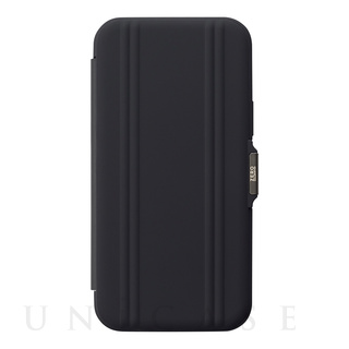 【iPhone12/12 Pro ケース】ZERO HALLIBURTON Hybrid Shockproof Flip Case for iPhone12/12 Pro (Black)