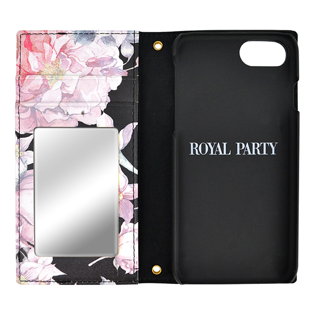 【iPhoneSE(第2世代)/8/7/6s/6 ケース】ROYAL PARTY bloom (BLACK)サブ画像