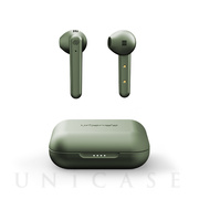 【完全ワイヤレスイヤホン】STOCKHOLM PLUS True Wireless (Olive Green)