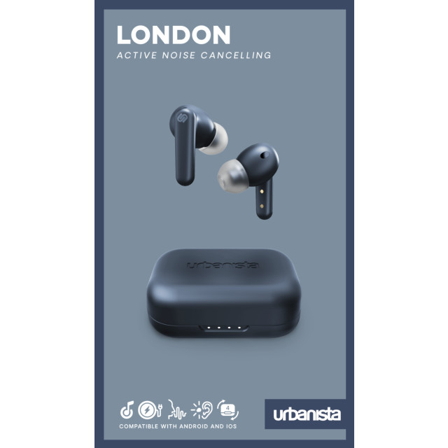 【完全ワイヤレスイヤホン】LONDON True Wireless (DARK SAPPHIRE)