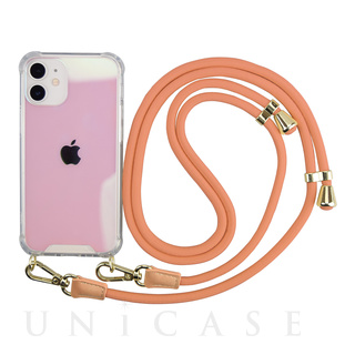 【iPhone12 mini ケース】Shoulder Strap Case for iPhone12 mini (terracotta)