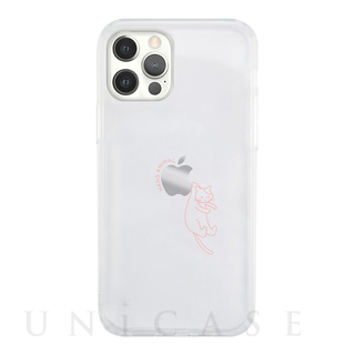 【iPhone12/12 Pro ケース】HANG ANIMAL CASE for iPhone12/12 Pro (ねこ)