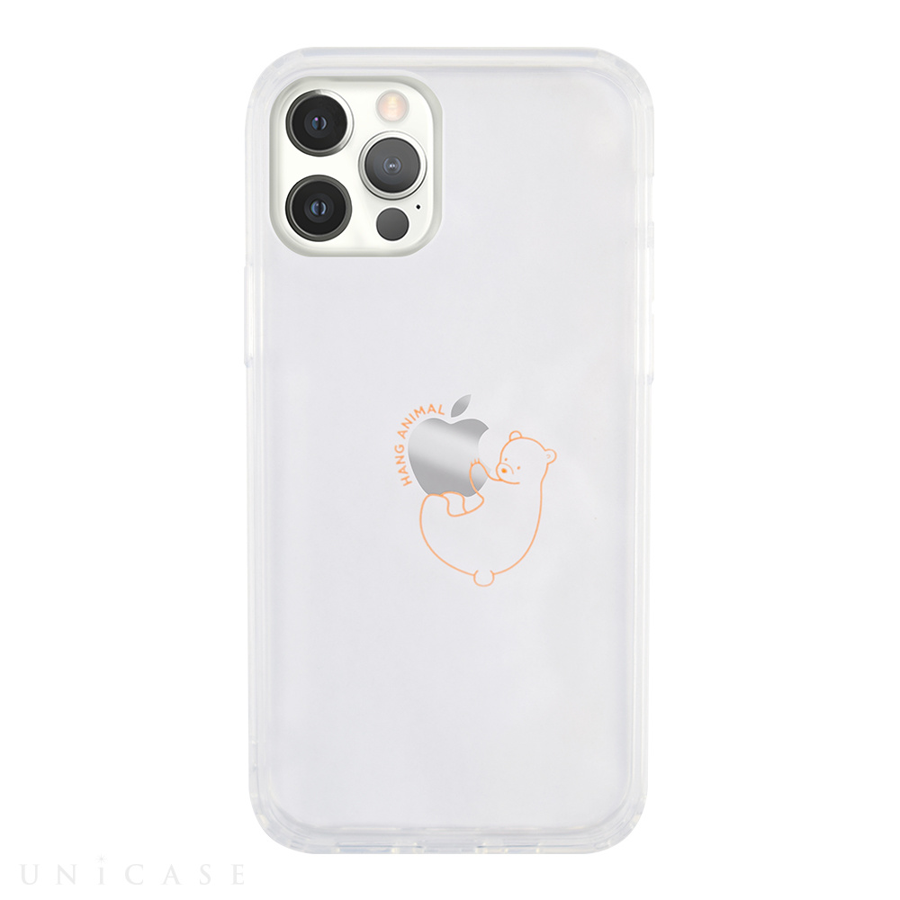 【iPhone12/12 Pro ケース】HANG ANIMAL CASE for iPhone12/12 Pro (くま)