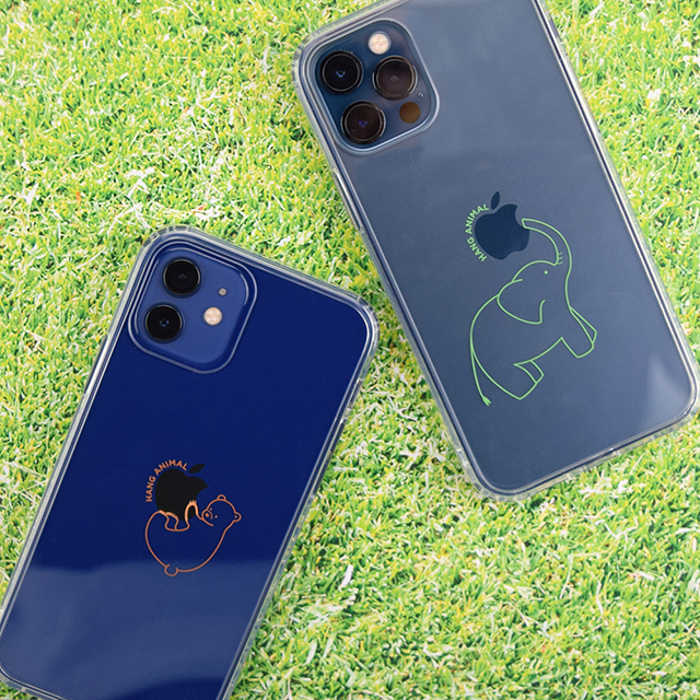 【iPhone12/12 Pro ケース】HANG ANIMAL CASE for iPhone12/12 Pro (くま)サブ画像