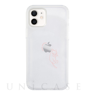 【iPhone12 mini ケース】HANG ANIMAL CASE for iPhone12 mini (ねこ)