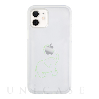 【iPhone12 mini ケース】HANG ANIMAL CASE for iPhone12 mini (ぞう)