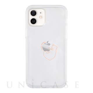 【iPhone12 mini ケース】HANG ANIMAL CASE for iPhone12 mini (くま)