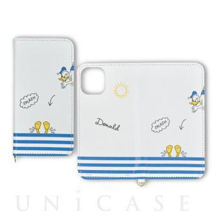 【iPhone12/12 Pro ケース】ディズニー/ディズニー・ピクサーキャラクター フリップカバー (ドナルドダック)