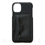 【iPhone11 ケース】SHAKE POACH iPhonecase (Black)