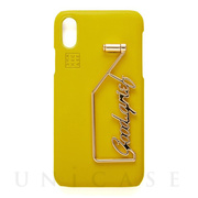 【iPhoneXS/X ケース】SHAKE GOODGRIEF iPhonecase (Lemon)
