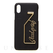 【iPhoneXS/X ケース】SHAKE GOODGRIEF iPhonecase (Black)