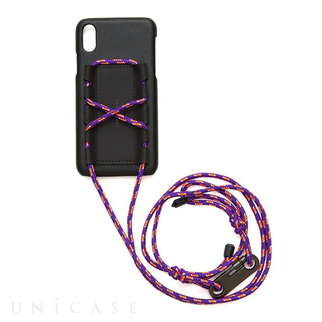 【iPhoneXS/X ケース】SHAKE PULLEY iPhonecase (Purple)