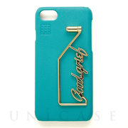 【iPhoneSE(第2世代)/8/7/6s/6 ケース】SHAKE GOODGRIEF iPhonecase (Turquoise)