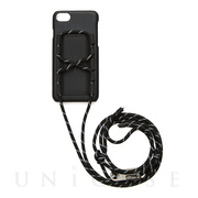 【iPhoneSE(第2世代)/8/7/6s/6 ケース】SHAKE PULLEY iPhonecase (Black)