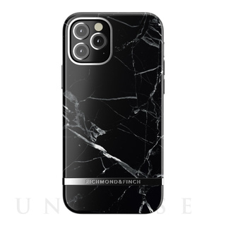 【iPhone12/12 Pro ケース】Freedom Case (Black Marble)