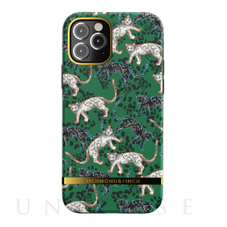 【iPhone12/12 Pro ケース】Freedom Case (Green Leopard)