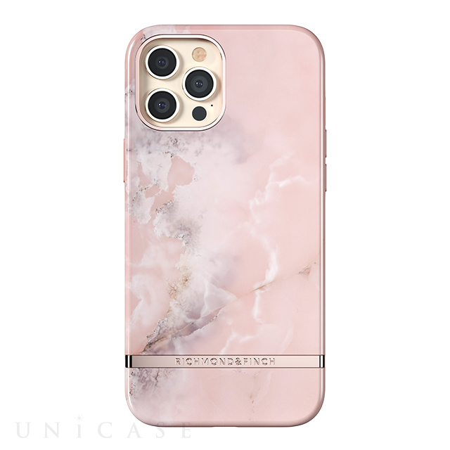 【iPhone12 Pro Max ケース】Freedom Case (Pink Marble)