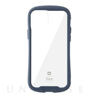【iPhone12/12 Pro ケース】iFace Reflection強化ガラスクリアケース (ネイビー)