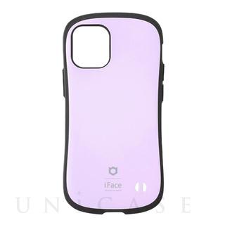 【iPhone12 mini ケース】iFace First Class Macaronsケース (マカロン/パープル)