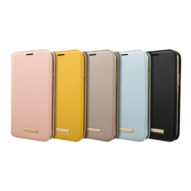 "【iPhone12/12 Pro ケース】""Shrink"" PU Leather Book Case (Light Blue)サブ画像"