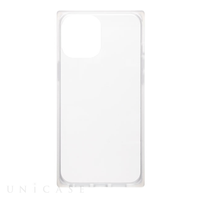 "【iPhone12 Pro Max ケース】""Glassty"" Glass Hybrid Shell Case (Clear)"