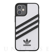 【iPhone12 mini ケース】Moulded Case SAMBA FW20 (White/Black)