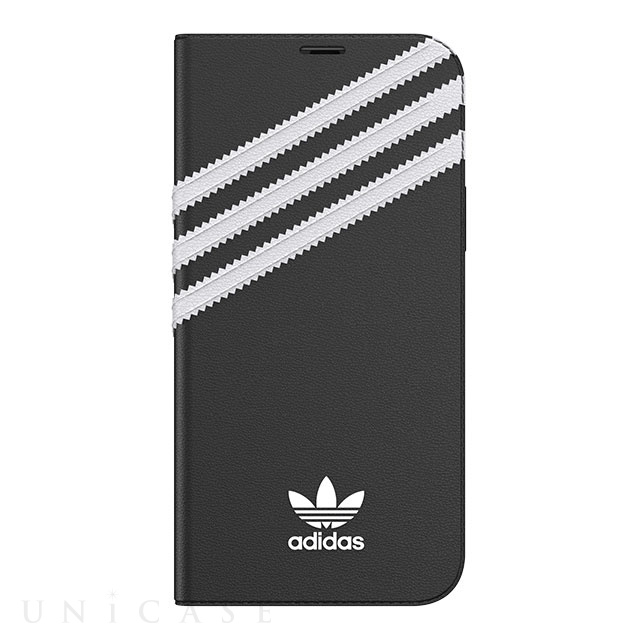 【iPhone12/12 Pro ケース】Booklet Case SAMBA FW20 (Black/White)