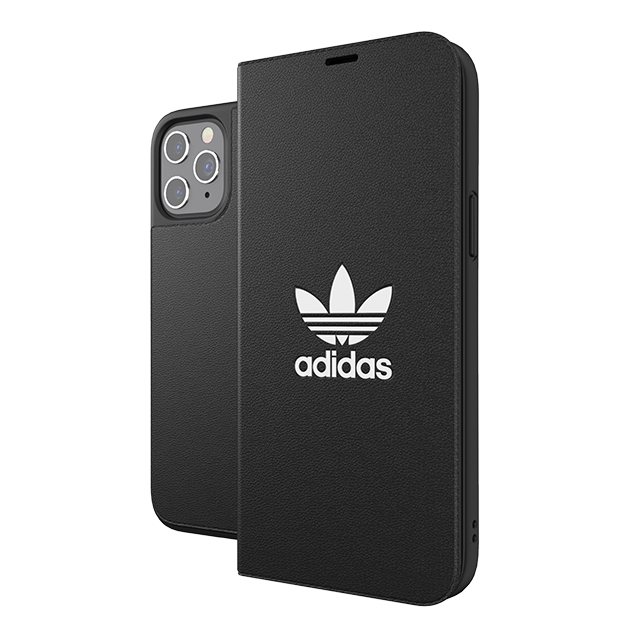 【iPhone12 Pro Max ケース】Booklet Case BASIC FW20 (Black/White)サブ画像