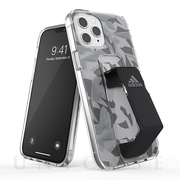 【iPhone12 Pro Max ケース】Clear Grip Case FW20 (Grey/Black)