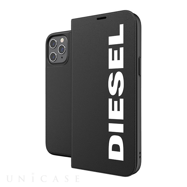 【iPhone12 Pro Max ケース】Booklet Case Core FW20 (Black/White)